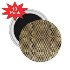 Fashion Style Glass Pattern 2.25  Magnets (10 pack)