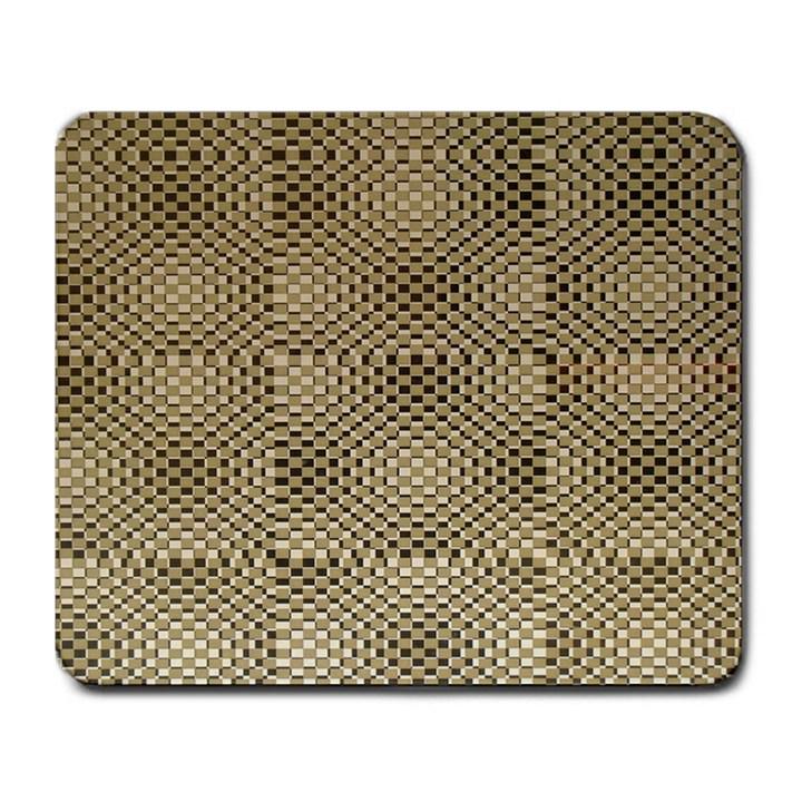 Fashion Style Glass Pattern Large Mousepads