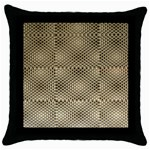 Fashion Style Glass Pattern Throw Pillow Case (Black) Front