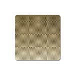 Fashion Style Glass Pattern Square Magnet Front