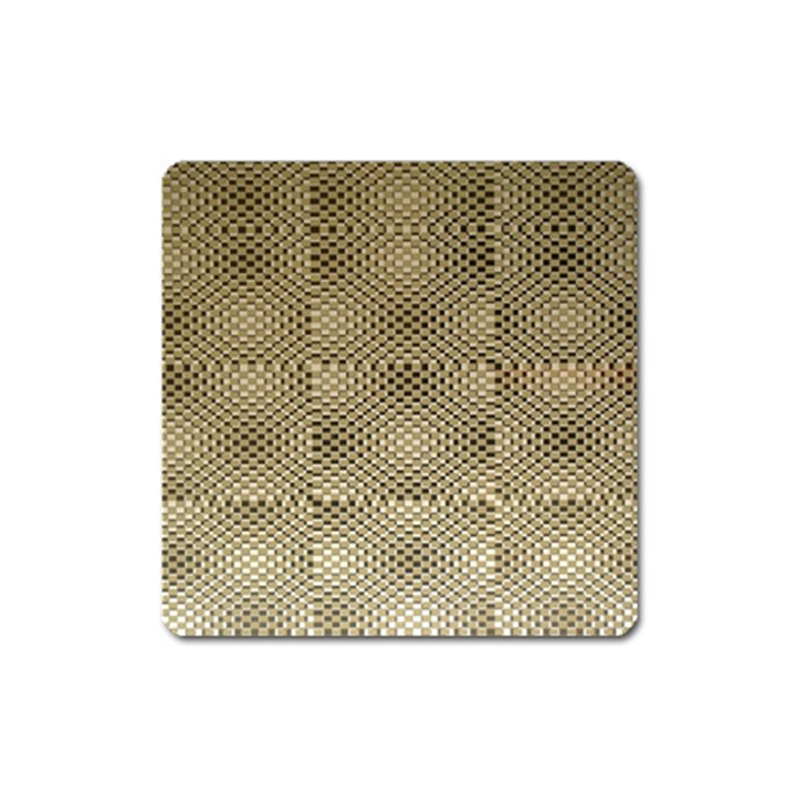 Fashion Style Glass Pattern Square Magnet