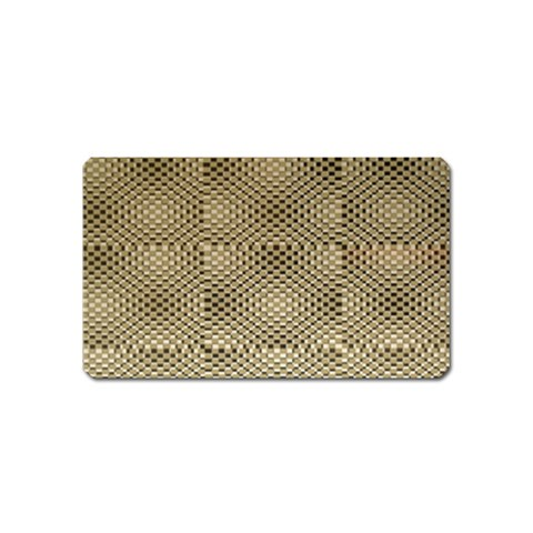 Fashion Style Glass Pattern Magnet (Name Card)