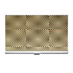 Fashion Style Glass Pattern Business Card Holders Front
