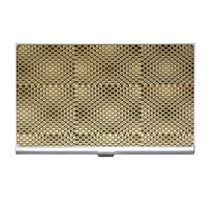 Fashion Style Glass Pattern Business Card Holders