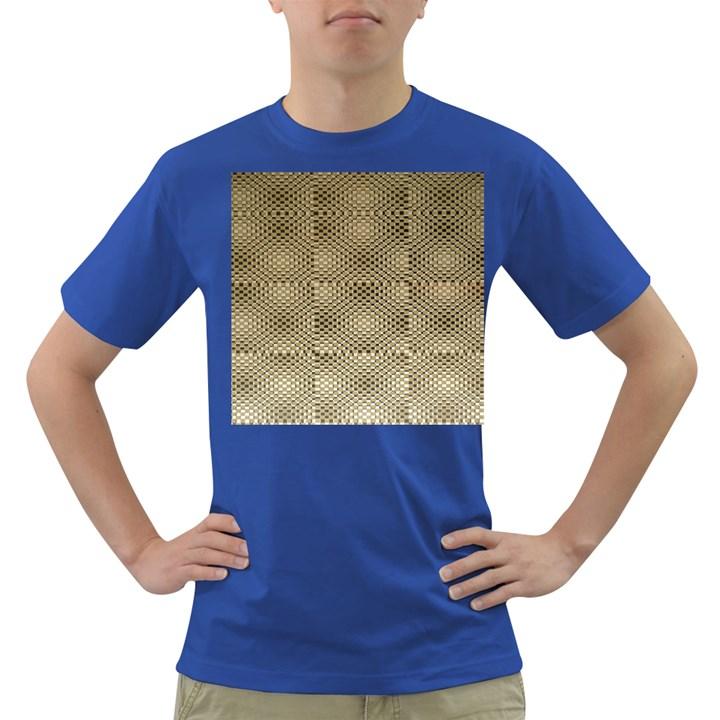 Fashion Style Glass Pattern Dark T-Shirt