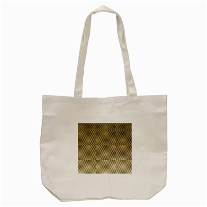 Fashion Style Glass Pattern Tote Bag (Cream)