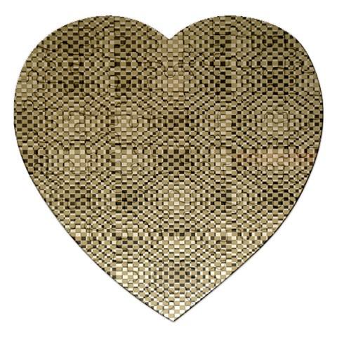 Fashion Style Glass Pattern Jigsaw Puzzle (Heart)