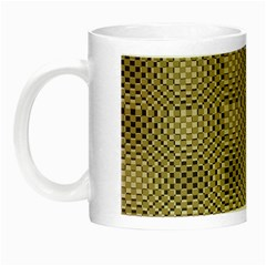 Fashion Style Glass Pattern Night Luminous Mugs