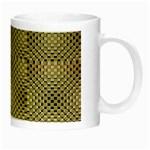 Fashion Style Glass Pattern Night Luminous Mugs Right