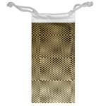 Fashion Style Glass Pattern Jewelry Bags Back