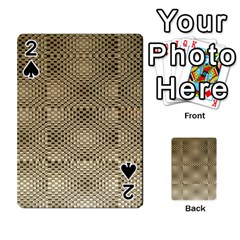 Fashion Style Glass Pattern Playing Cards 54 Designs