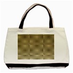 Fashion Style Glass Pattern Basic Tote Bag Front