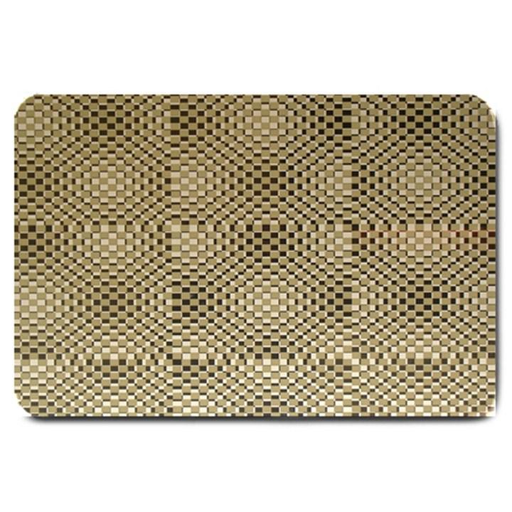 Fashion Style Glass Pattern Large Doormat