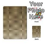 Fashion Style Glass Pattern Multi-purpose Cards (Rectangle)  Back 40