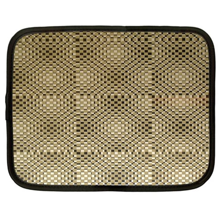 Fashion Style Glass Pattern Netbook Case (Large)