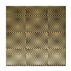 Fashion Style Glass Pattern Face Towel