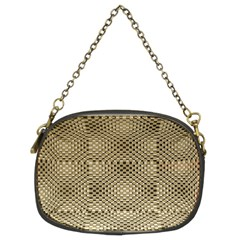Fashion Style Glass Pattern Chain Purses (Two Sides)