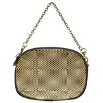 Fashion Style Glass Pattern Chain Purses (Two Sides)  Back