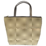 Fashion Style Glass Pattern Bucket Bags Front