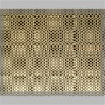 Fashion Style Glass Pattern Canvas 20  x 16  20  x 16  x 0.875  Stretched Canvas