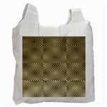 Fashion Style Glass Pattern Recycle Bag (Two Side)  Front