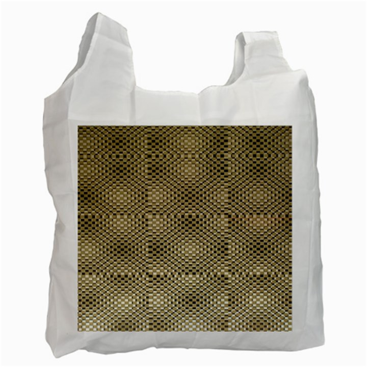 Fashion Style Glass Pattern Recycle Bag (Two Side)