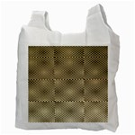 Fashion Style Glass Pattern Recycle Bag (Two Side)  Back