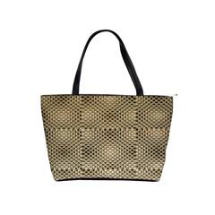 Fashion Style Glass Pattern Shoulder Handbags
