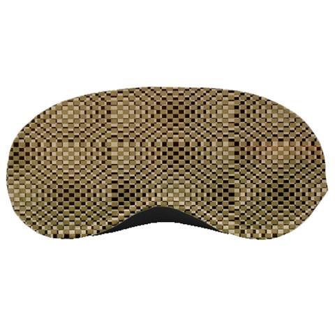 Fashion Style Glass Pattern Sleeping Masks