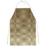 Fashion Style Glass Pattern Full Print Aprons Front