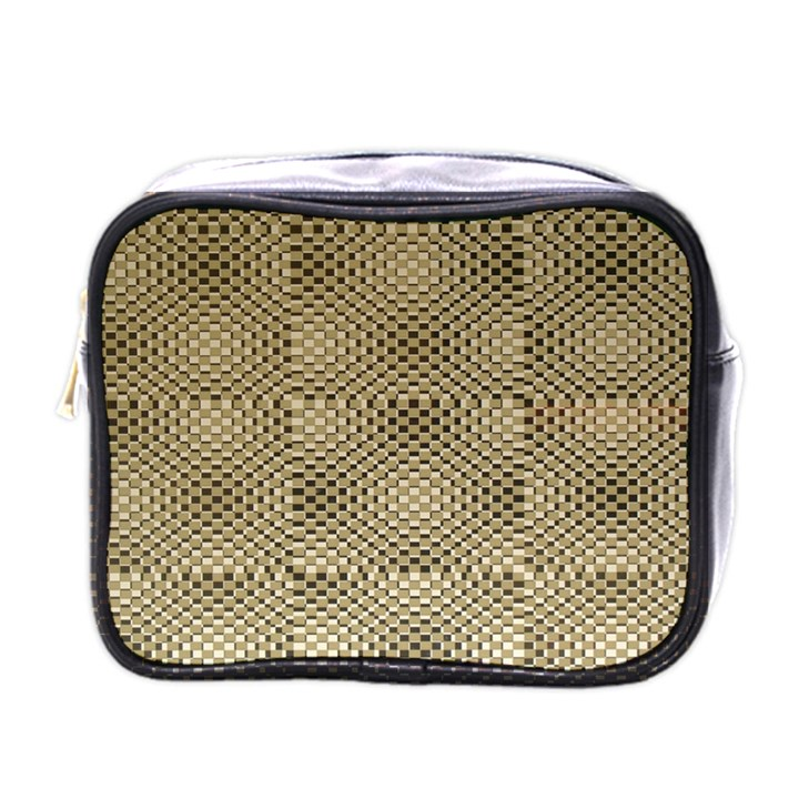 Fashion Style Glass Pattern Mini Toiletries Bags