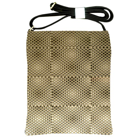 Fashion Style Glass Pattern Shoulder Sling Bags