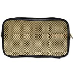 Fashion Style Glass Pattern Toiletries Bags 2-Side Front