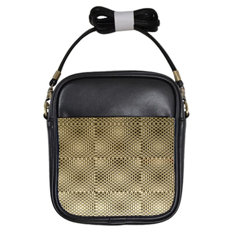 Fashion Style Glass Pattern Girls Sling Bags
