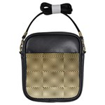 Fashion Style Glass Pattern Girls Sling Bags Front