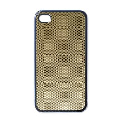 Fashion Style Glass Pattern Apple iPhone 4 Case (Black)
