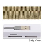 Fashion Style Glass Pattern Memory Card Reader (Stick)  Front