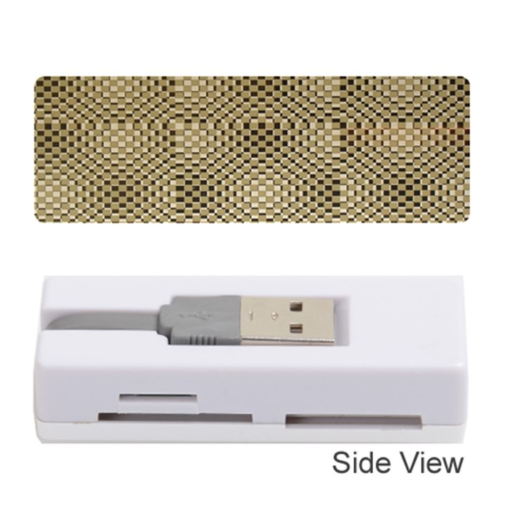 Fashion Style Glass Pattern Memory Card Reader (Stick)