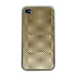 Fashion Style Glass Pattern Apple iPhone 4 Case (Clear) Front