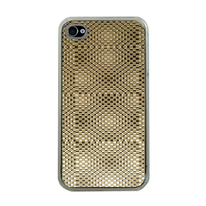 Fashion Style Glass Pattern Apple iPhone 4 Case (Clear)
