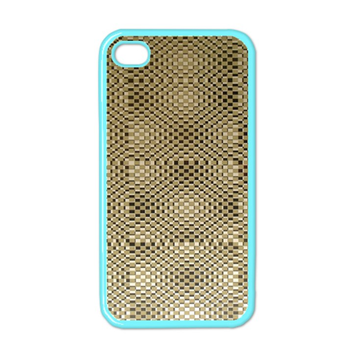 Fashion Style Glass Pattern Apple iPhone 4 Case (Color)