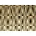 Fashion Style Glass Pattern LOVE Bottom 3D Greeting Card (7x5) Back