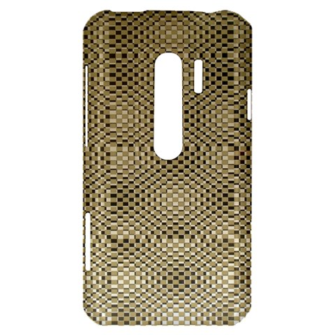 Fashion Style Glass Pattern HTC Evo 3D Hardshell Case