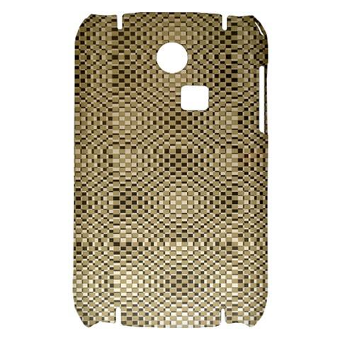Fashion Style Glass Pattern Samsung S3350 Hardshell Case