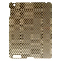 Fashion Style Glass Pattern Apple iPad 3/4 Hardshell Case