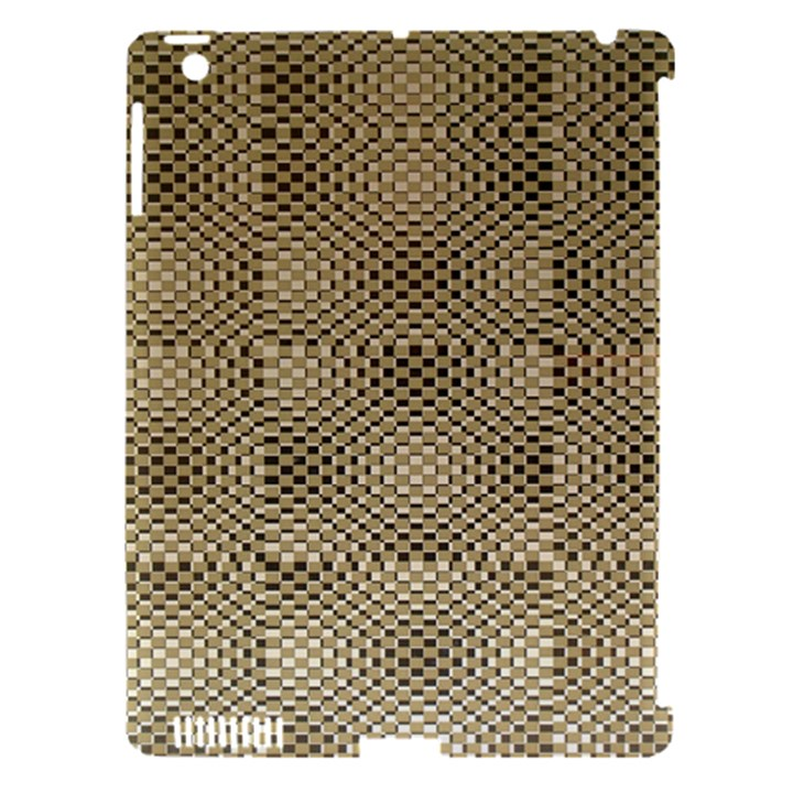 Fashion Style Glass Pattern Apple iPad 3/4 Hardshell Case (Compatible with Smart Cover)