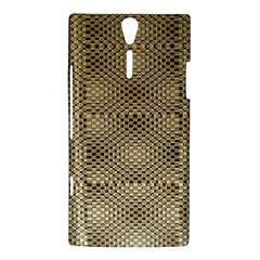 Fashion Style Glass Pattern Sony Xperia S