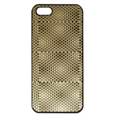Fashion Style Glass Pattern Apple iPhone 5 Seamless Case (Black)
