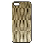 Fashion Style Glass Pattern Apple iPhone 5 Seamless Case (Black) Front
