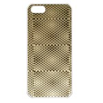 Fashion Style Glass Pattern Apple iPhone 5 Seamless Case (White) Front